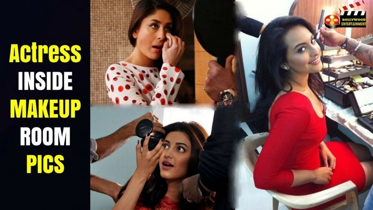 Top Bollywood Actress Inside Makeup Room Pics (With images ...
