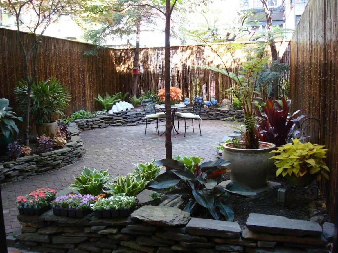Townhouse Landscaping Small Yard Patio Backyard Ideas Design And ..