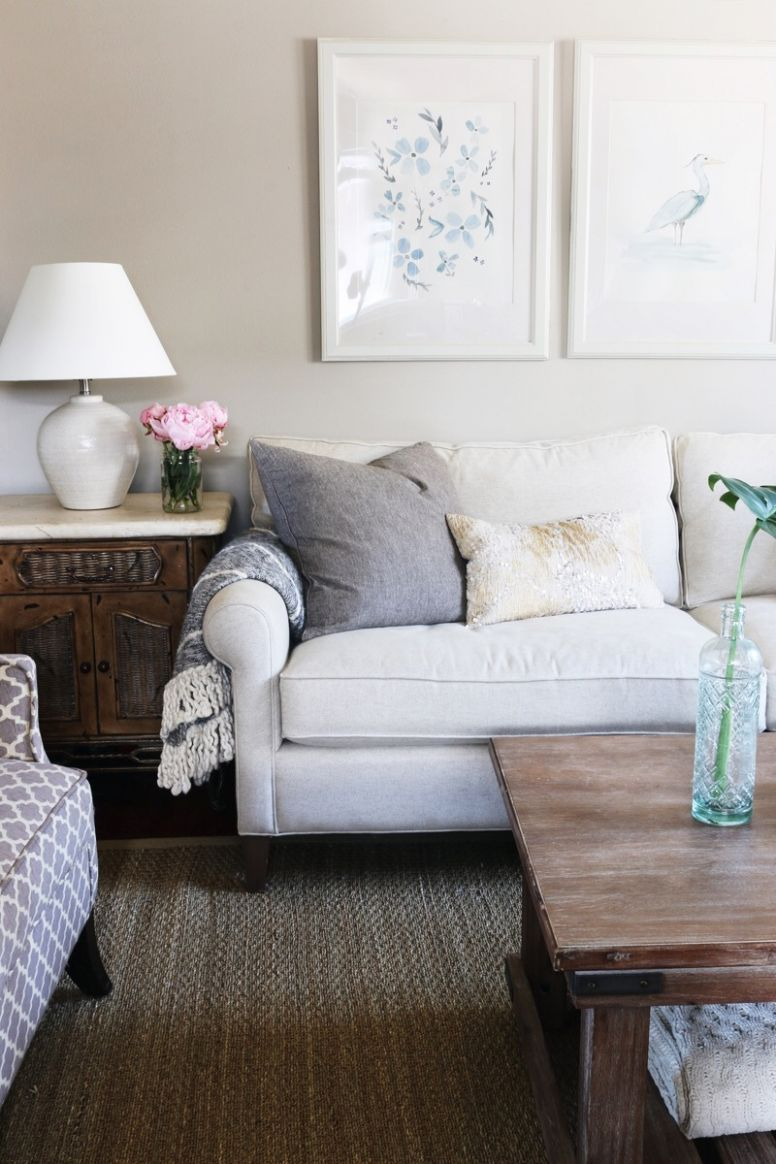 Townhouse Update: New Sofa + Living Room Decorating - The Inspired ..