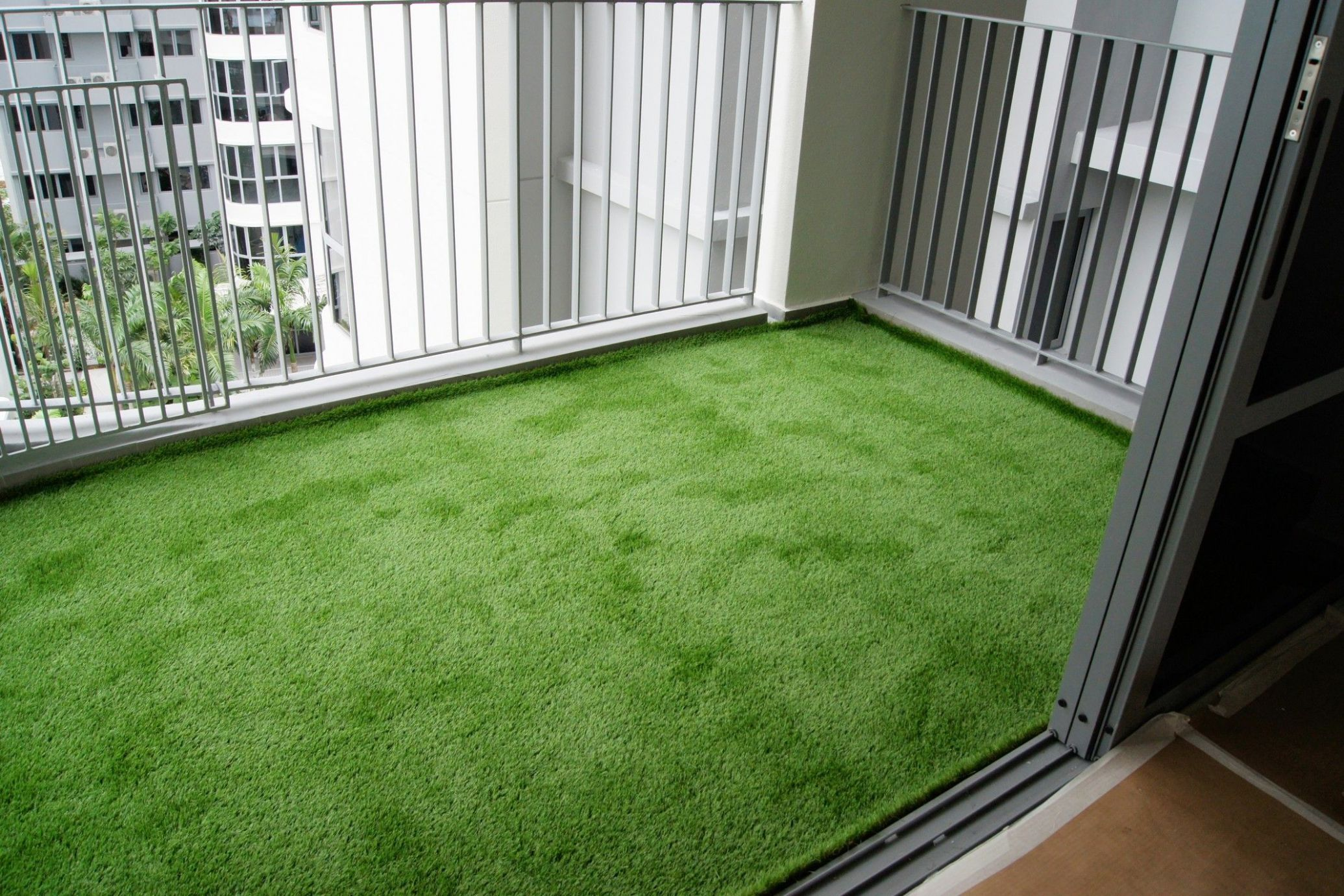 Transforming Balconies at Arc at Tampines | Artificial grass ..