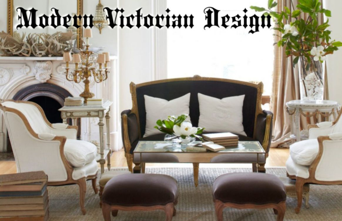 Trend for 8 ~ Victorian Style in a Modern Home - Posh Lamps - modern victorian dining room ideas