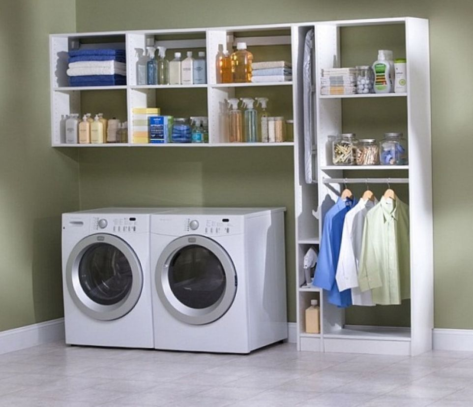 Trendy Idea Laundry Room Storage Ideas For Small Rooms Home ..