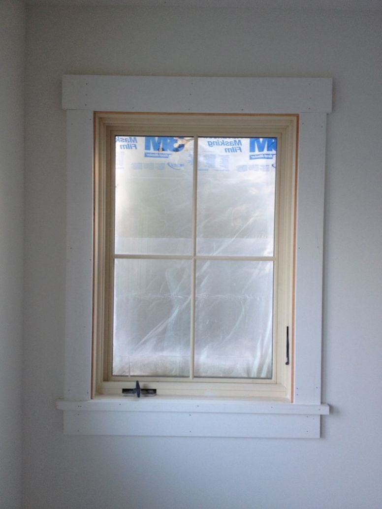 Trim style for windows and doors (With images) | Interior window ...