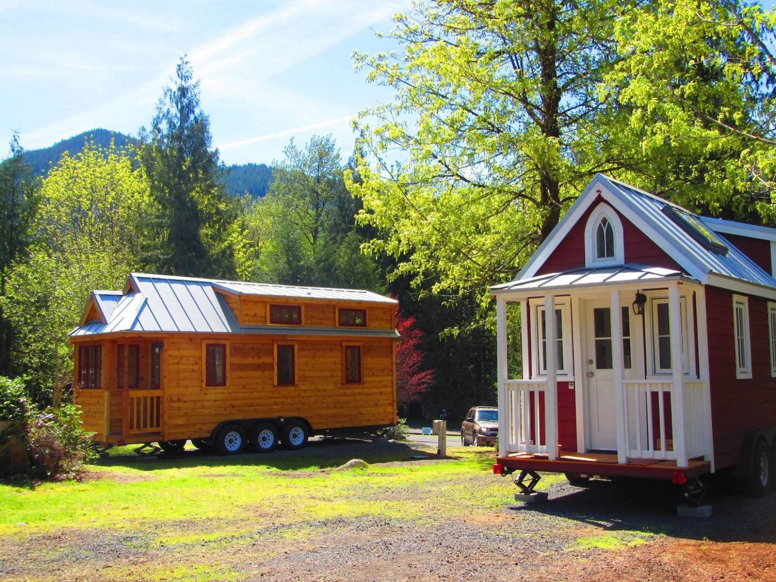 Try out tiny house living in Oregon's new micro-home resort in Mt ...