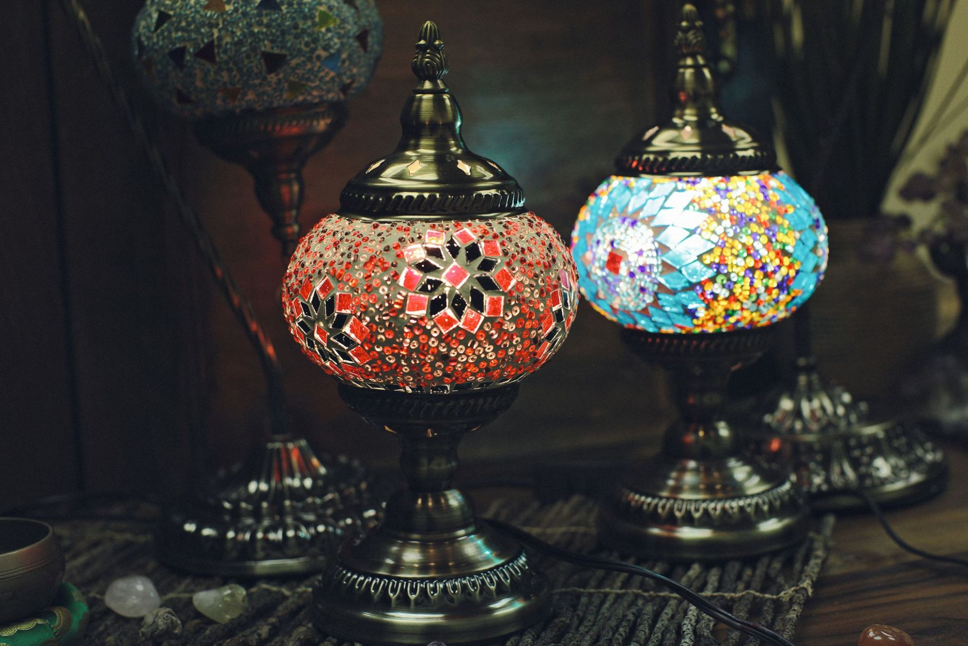 Turkish Chandeliers Ceiling and Table Lamps - Home Decor Turkish ...