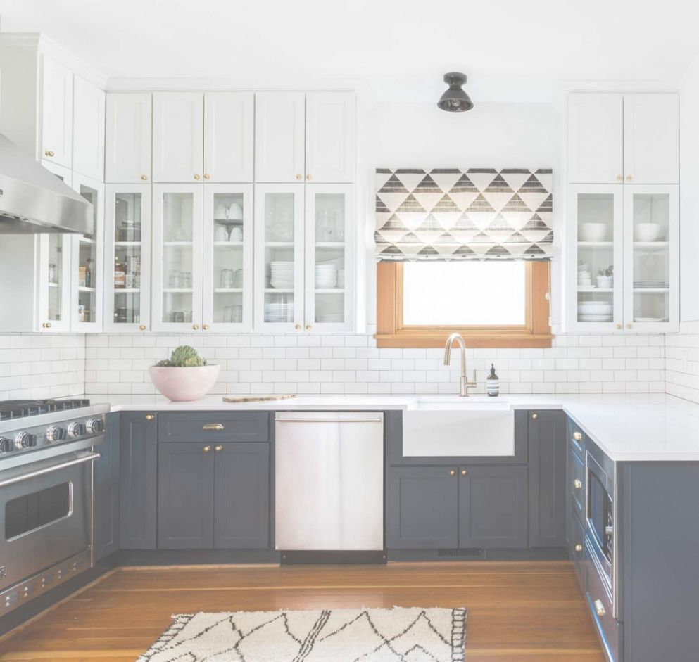 Unique Two Tone Kitchen Cabinets - Ideas House Generation - kitchen ideas two tone cabinets