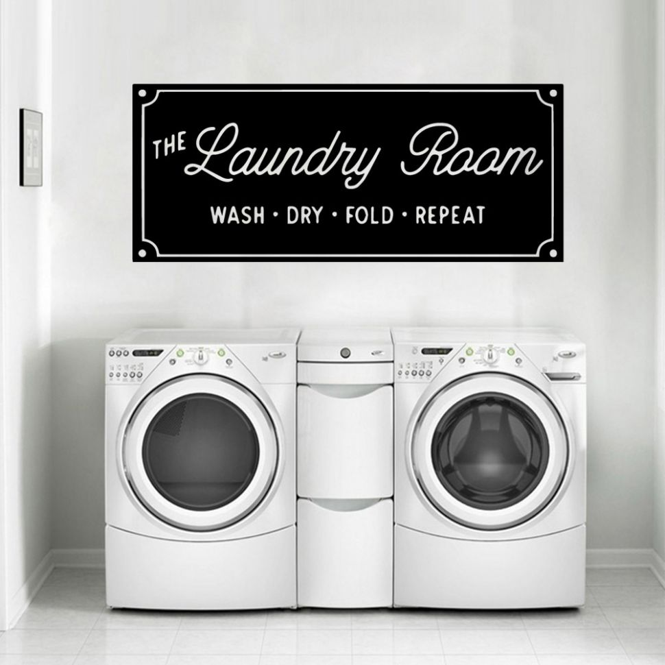 US $10.10 |Creative Laundry Room Vinyl Wall Stickers Removable Wallpaper For  Laundry Room Decor Decal Commercial Wall Decal Stickers Murals|Wall ..