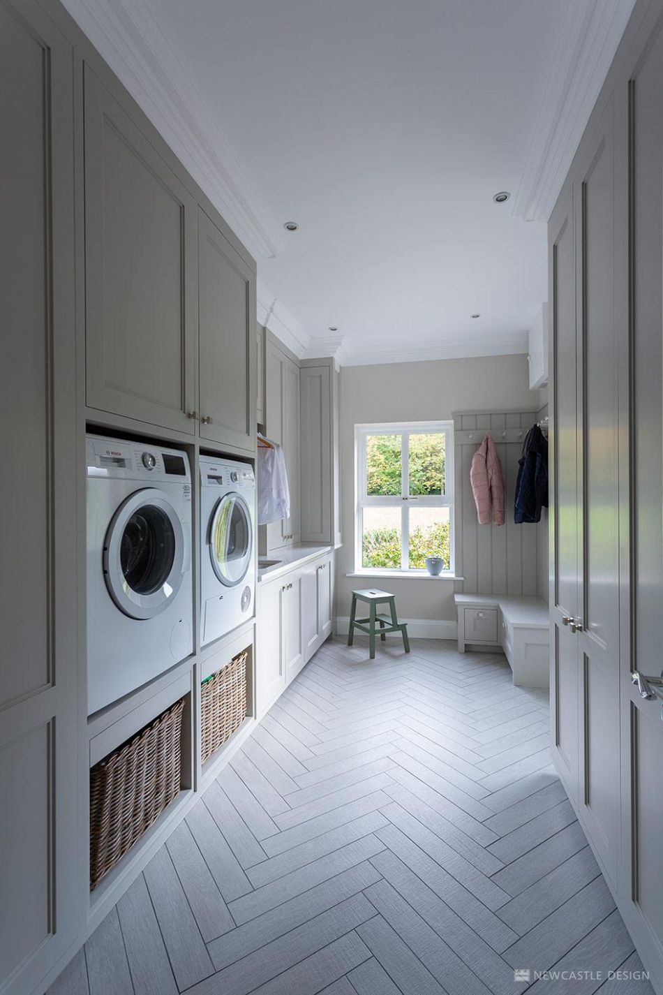 Utility, Laundry & Pantry Room Storage | Newcastle Design Ireland