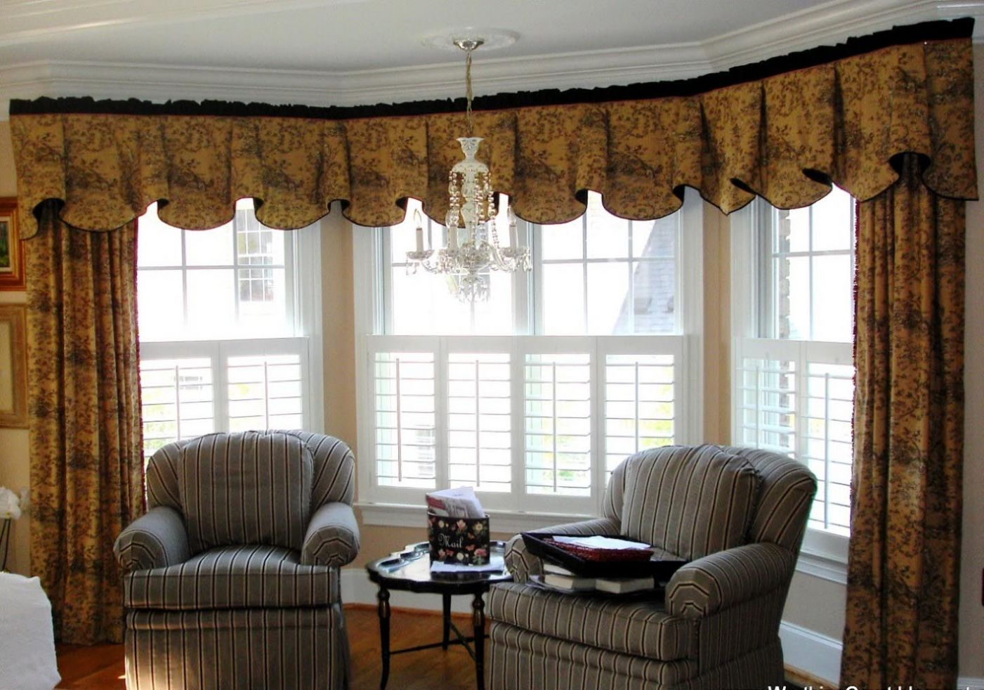 Valance Curtains For Living Room | Window Treatments Design Ideas - window valance ideas living room
