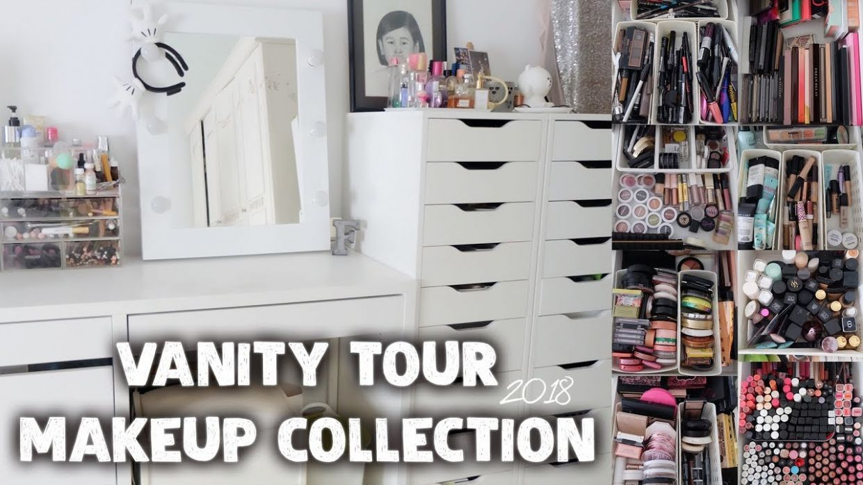 Vanity Tour & Makeup Collection 11 (Indonesia) - Almiranti Fira - makeup room tour 2018