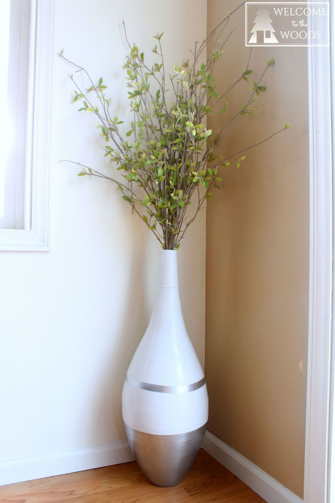 Vase Refresh for Dining Room-ORC Week 8 (With images) | Floor vase ..
