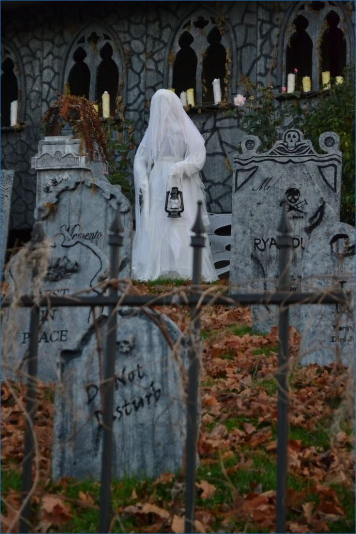 Veronica D scary graveyard (With images) | Halloween haunted ...