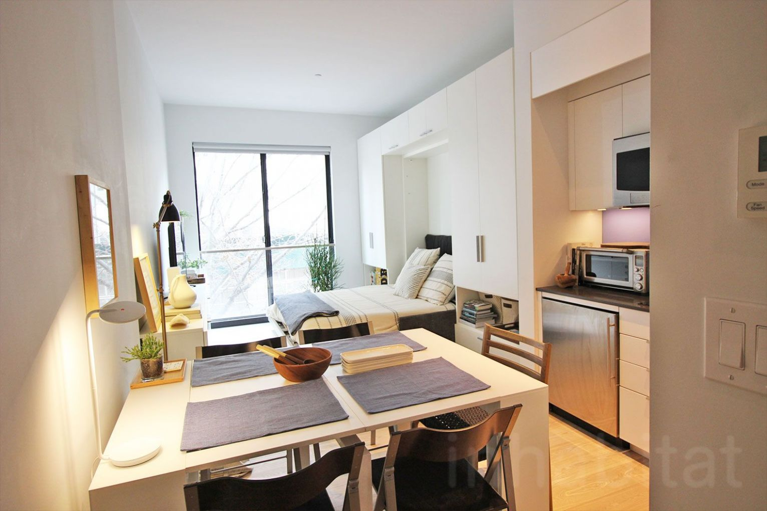 VIDEO: NYC's first micro apartment building is almost ready to ...