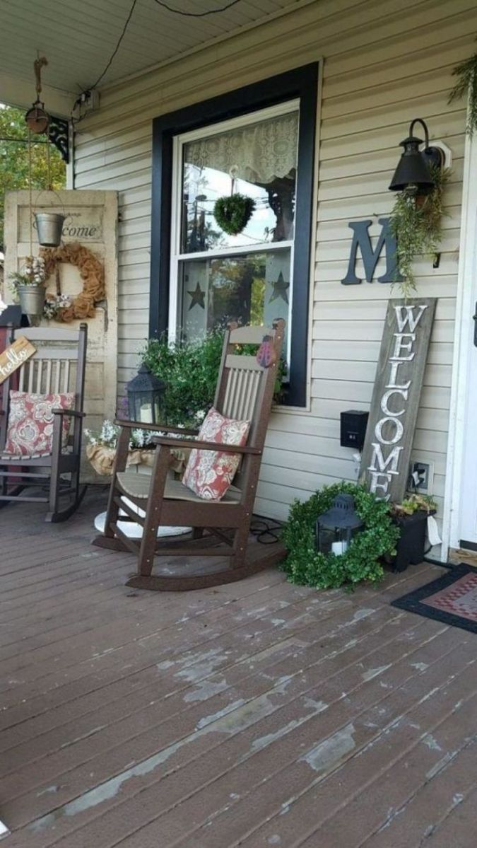 Vintage Farmhouse Porch Decorating Ideas - Page 11 of 11 | Porch ...