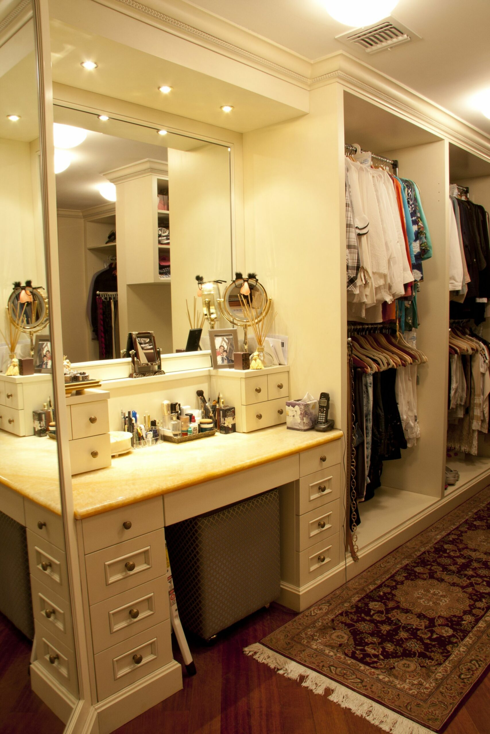Walk In Closet design ideas, Large or small, a walk-in closet is a ...