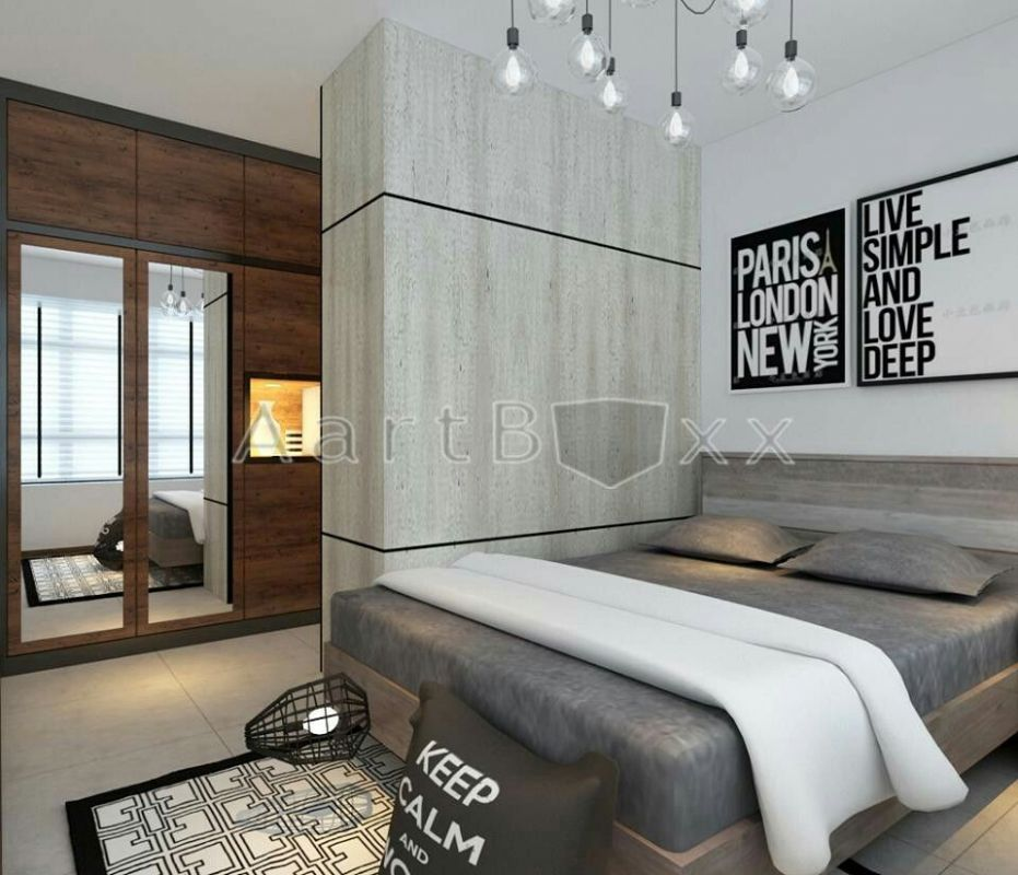 Walk in wardrobe in a 10-room bto (With images) | Luxury bedroom ..