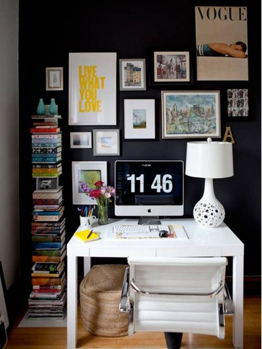 Wall Art Ideas Design Contemporary White Home Office Modern ...