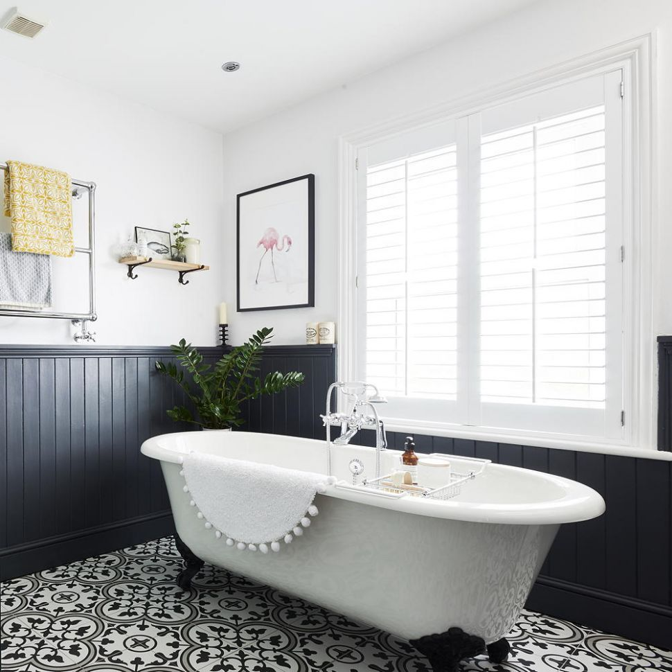 Wall panelling ideas for every room – from traditional to contemporary - bathroom ideas using wall panels