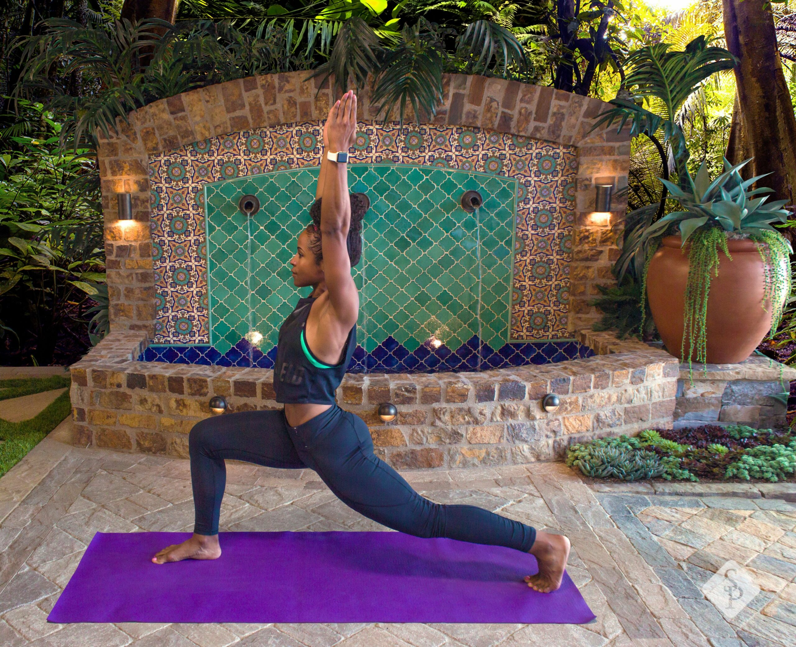 Warrior 10 Pose: One of many introductory yoga poses that is ...
