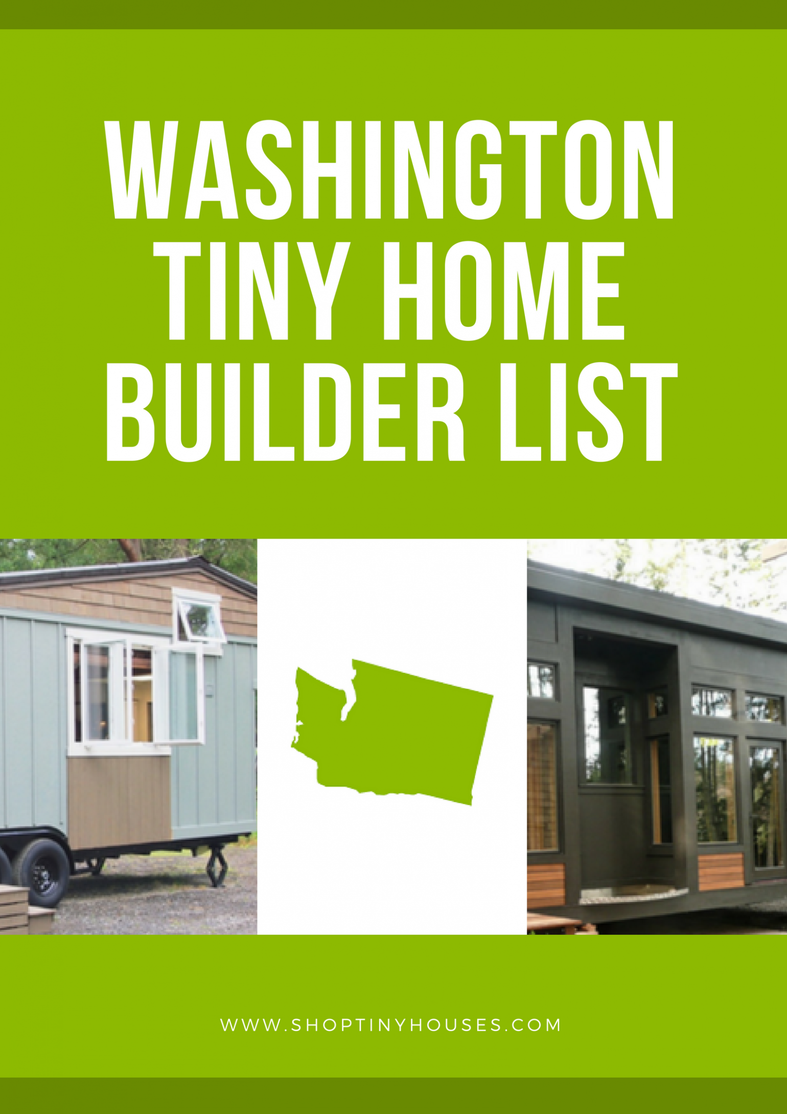 Washington Tiny Home Builders | Tiny house washington, Tiny house ..
