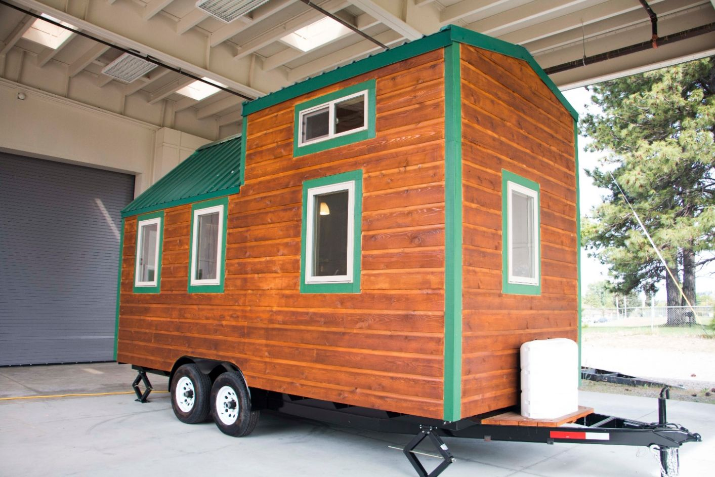 Weed High School's Tiny House Project