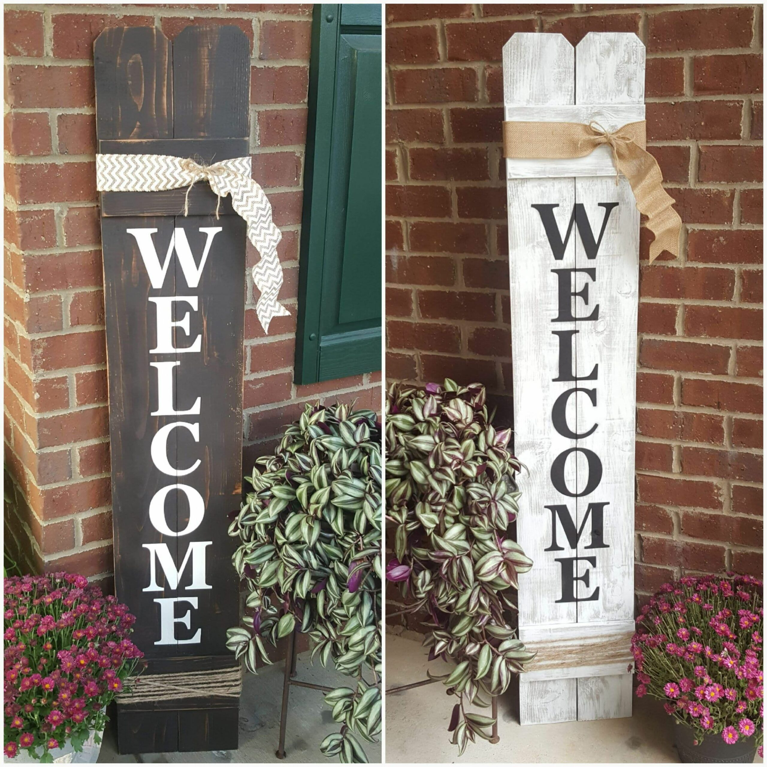 Welcome Sign Welcome Sign for Front Door Front Porch Decor | Etsy ..