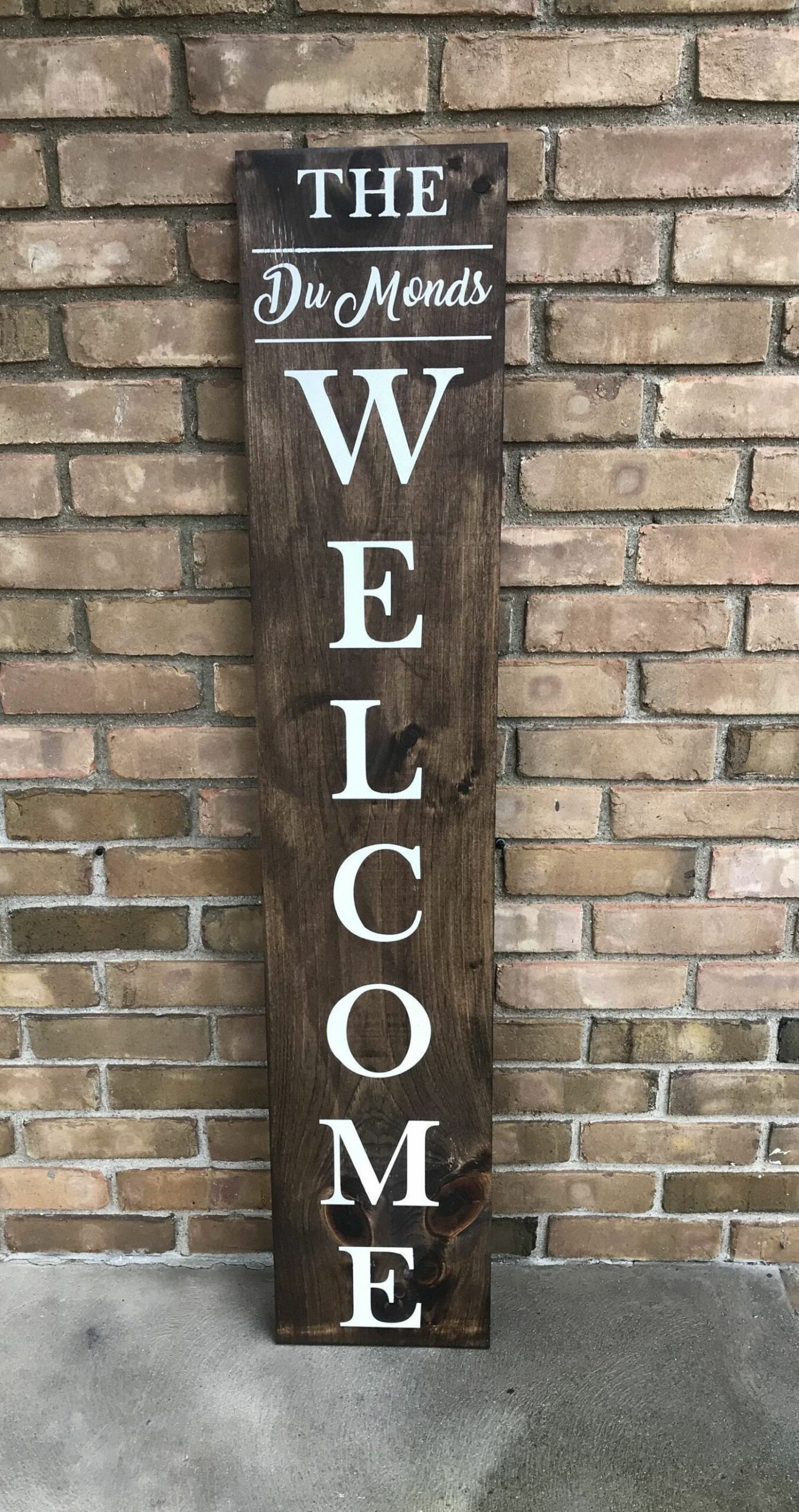 Welcome Wood Sign | Entry Sign | Porch Decor | Entry Decor ..