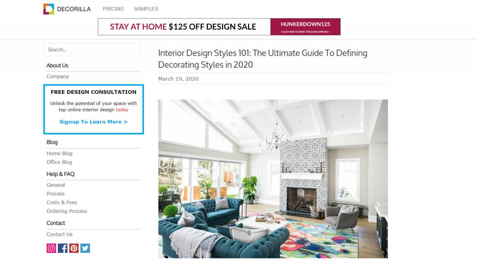 What are some of the best websites to follow for interior design ..
