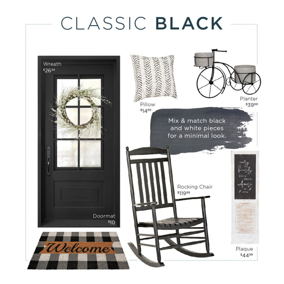 What's Your Front Porch Style? Three Looks Made for You — Half Full
