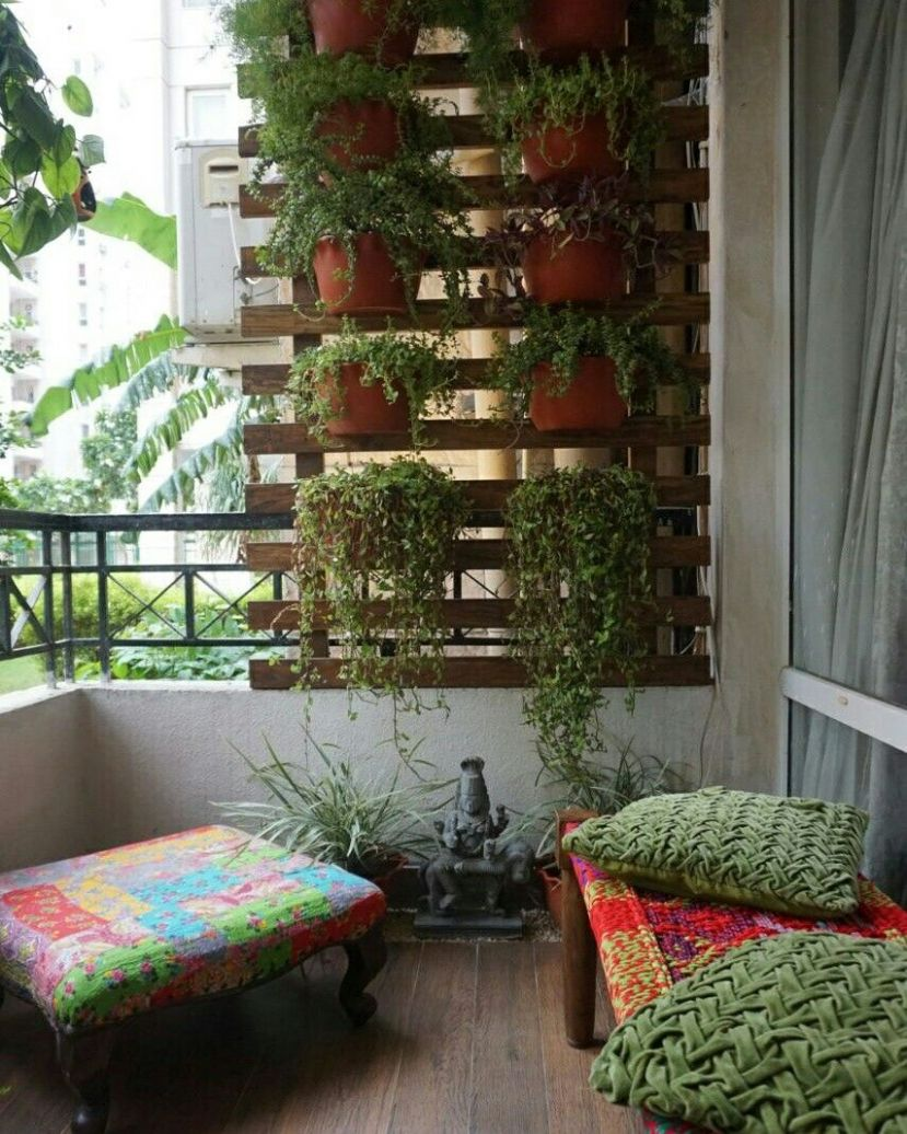 When green walls have a wooden frame to support they look so much ..
