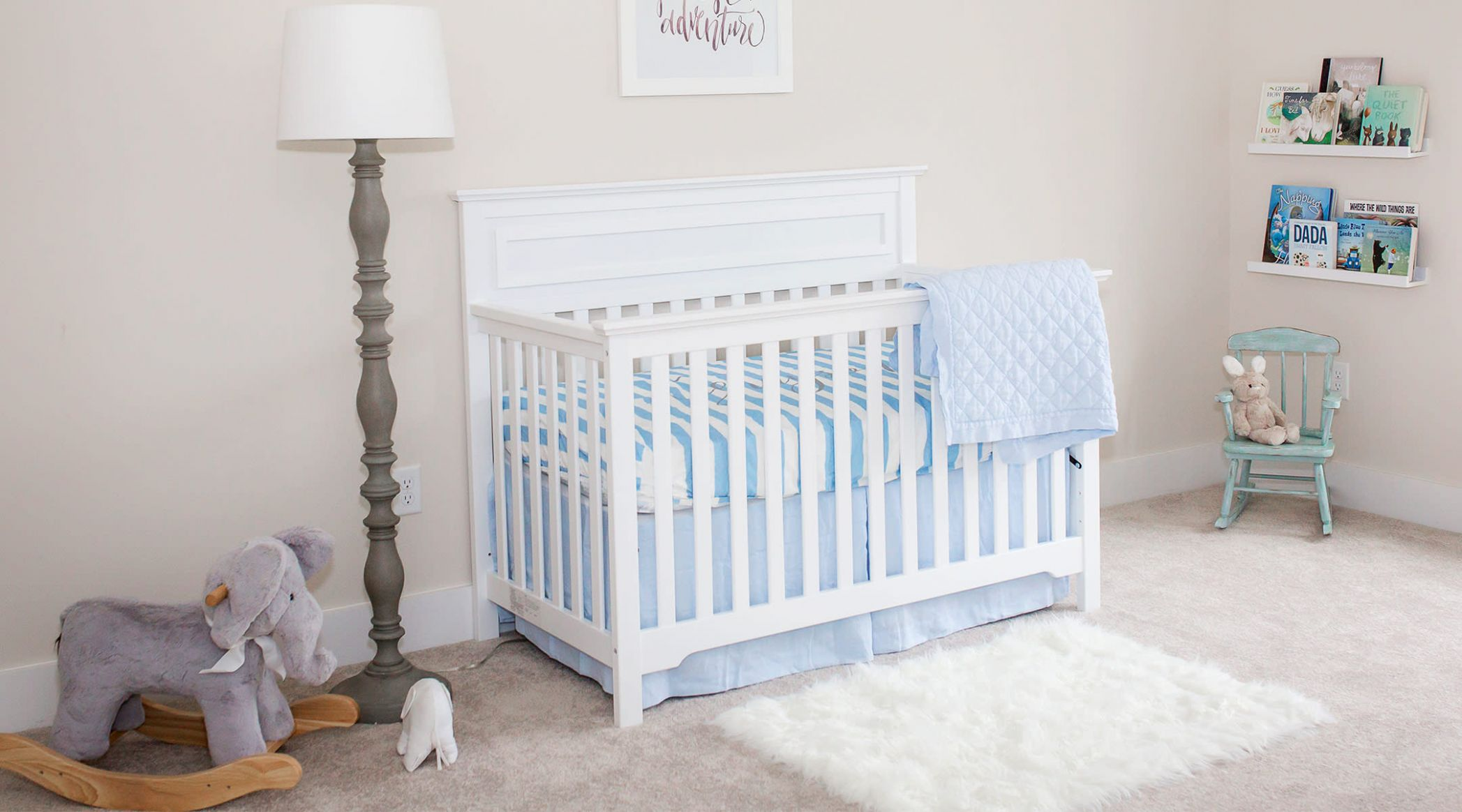 When to Move Baby to His Own Room - baby room nursery