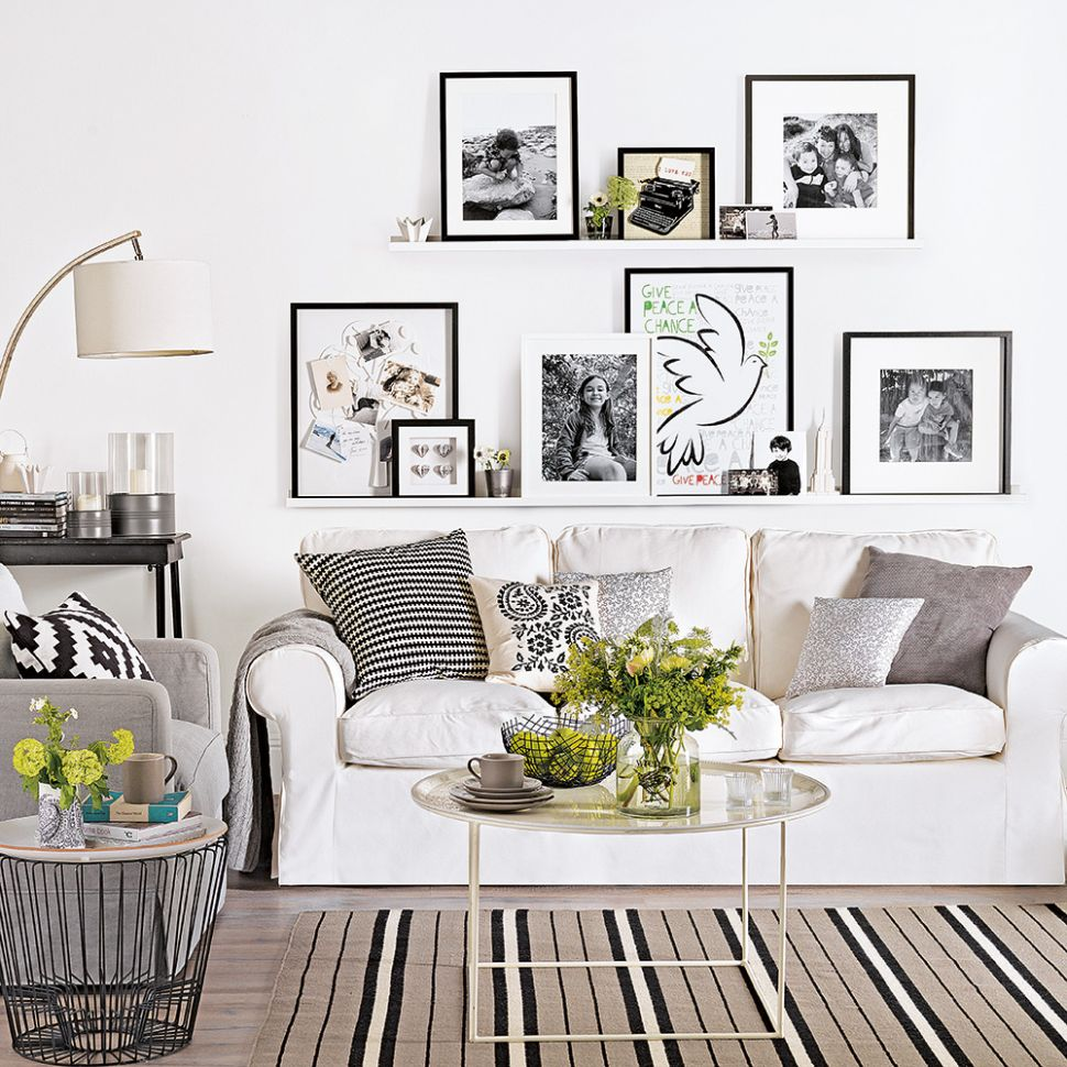 White living room ideas | Ideal Home