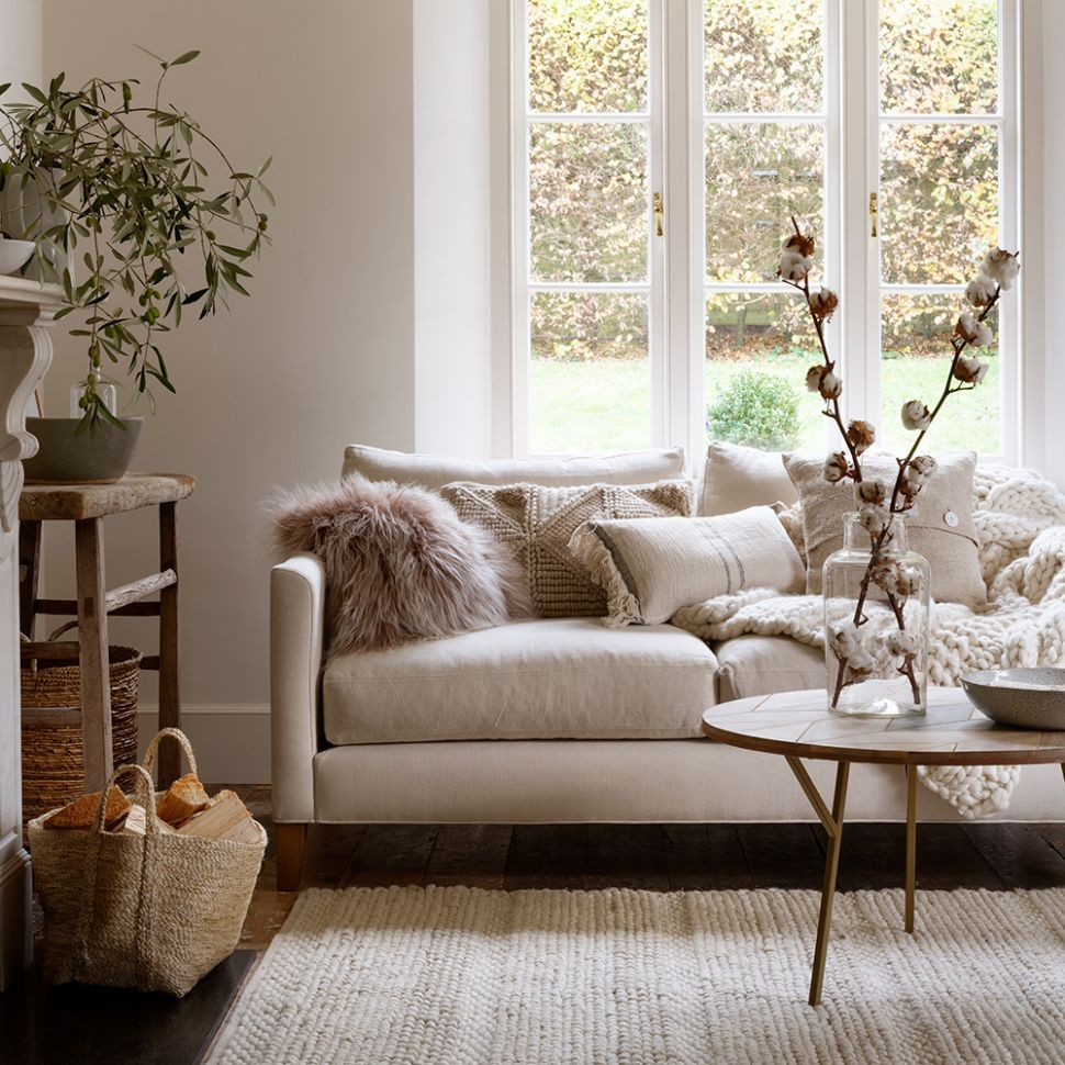 White living room ideas | Ideal Home - living room ideas off white walls