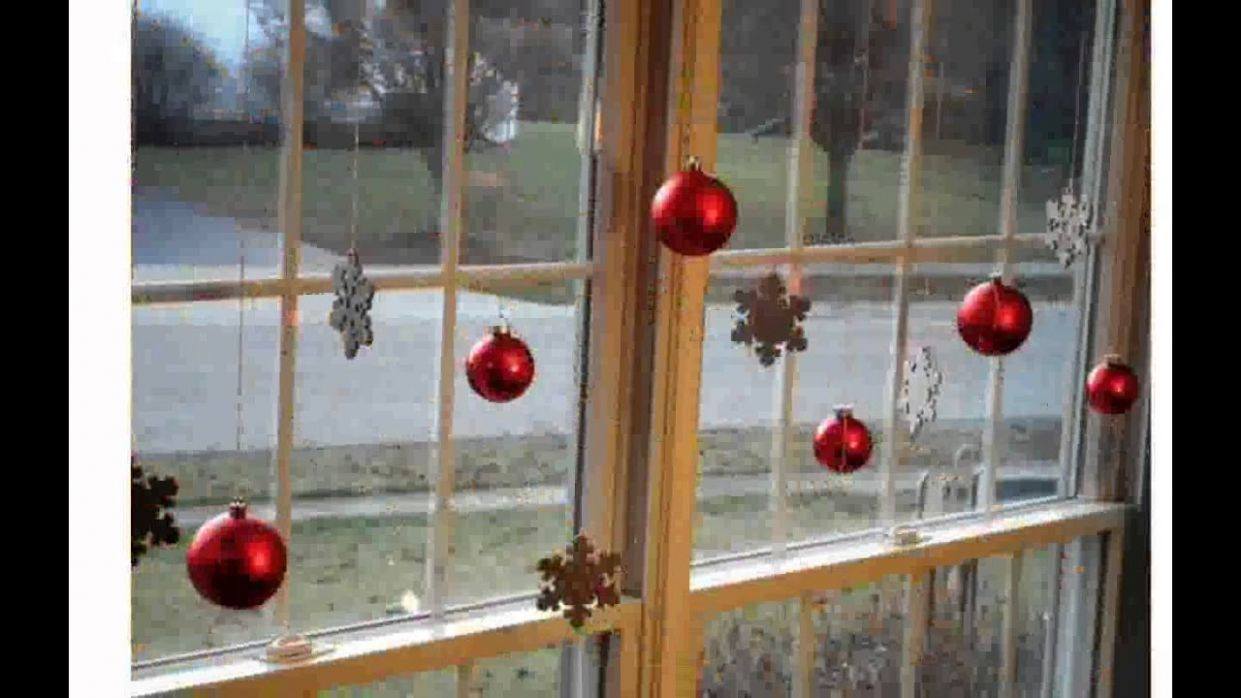 Window Christmas Decorations - YouTube - window ideas christmas