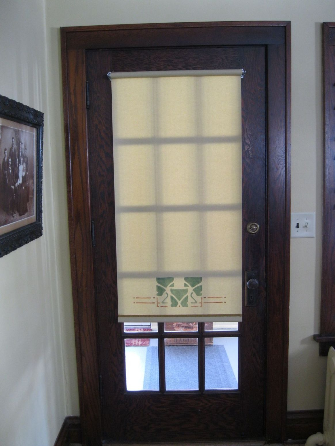 Window Covering Ideas For Glass Front Doors (With images) | Door ...