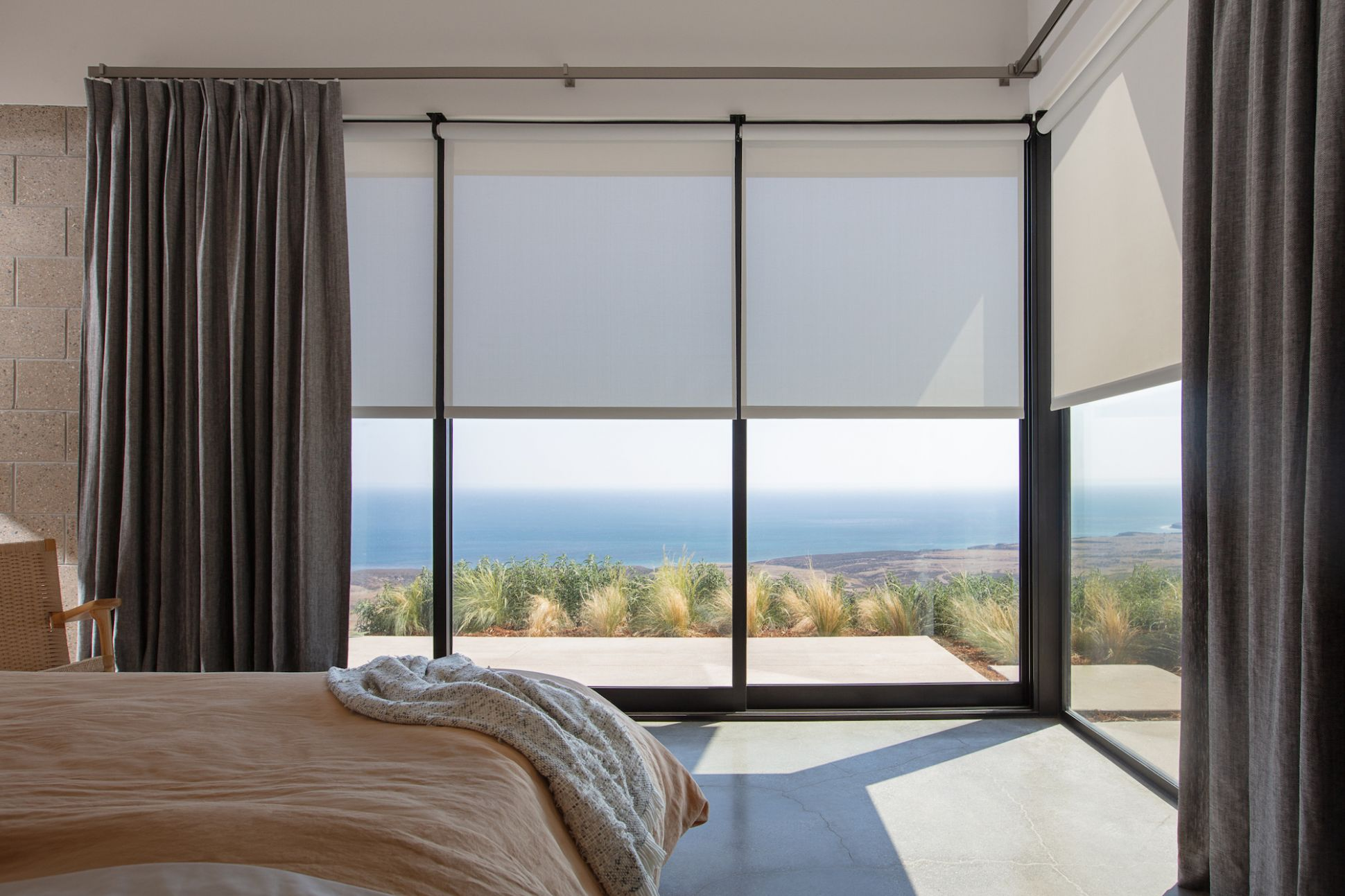 Window Treatments for Sliding Glass & Patio Doors | The Shade Store - window dressing ideas for patio doors