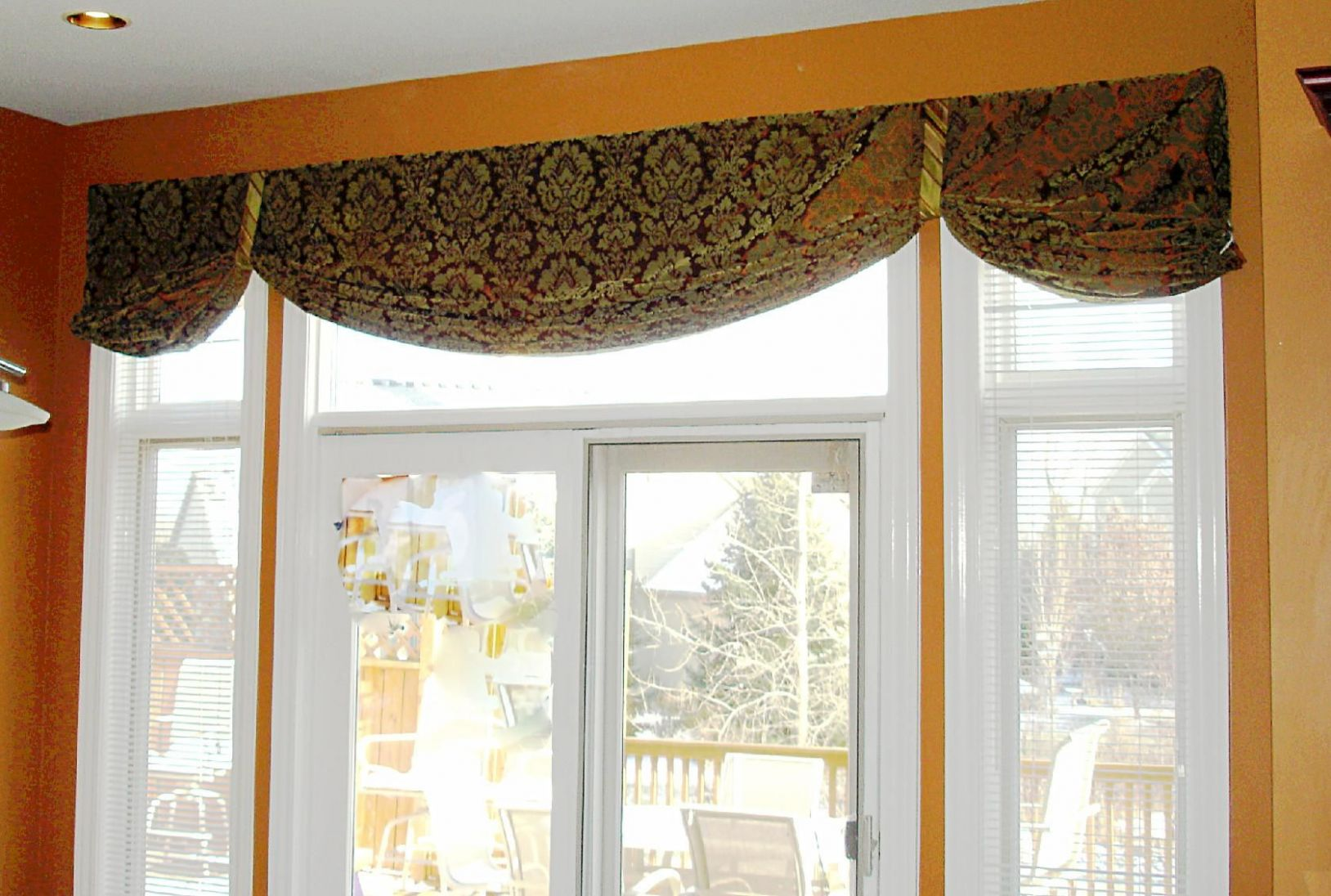 Window Valance Ideas For Large Windows | Valances for living room ...