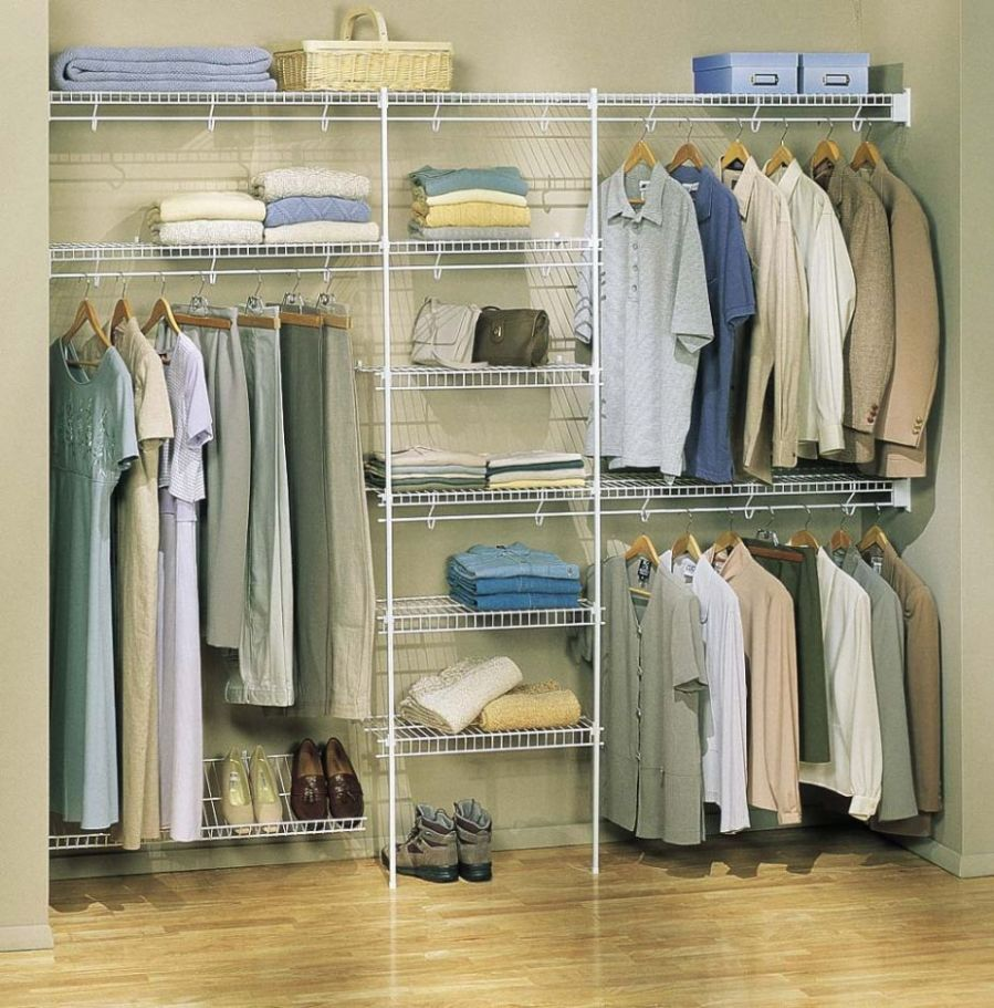 Wire Closet Shelving Systems (With images) | Bedroom organization ..