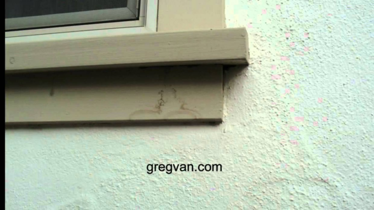 Wood Window Sill Stains - Exterior House Maintenance Tips