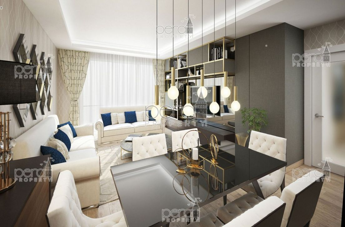 XL apartments in transforming Kagithane just minutes from the city ...