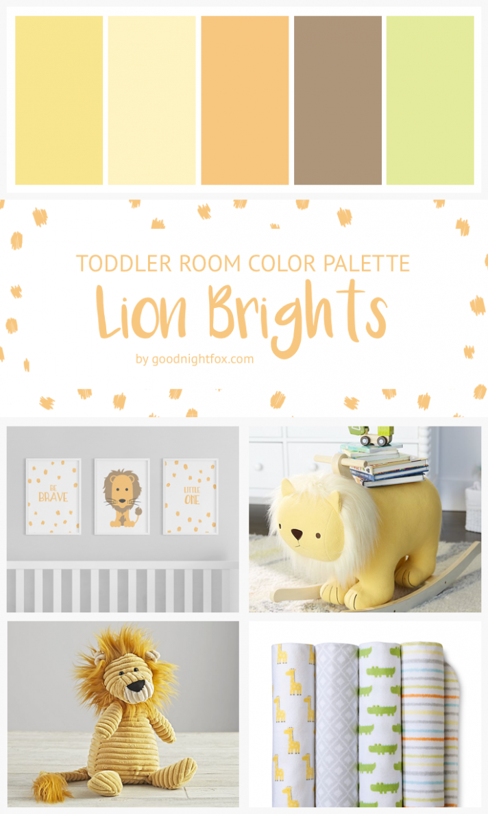Yellow & Green Toddler Room Color Palette (With images) | Colorful ...