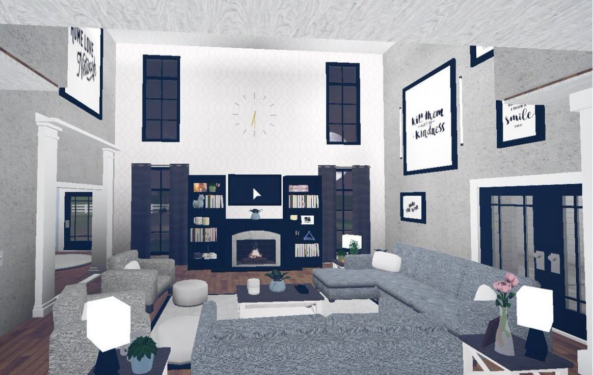 """Yikes Ash on Twitter: """"Livingroom and Kitchen 💙 @RBX_Coeptus ..."""