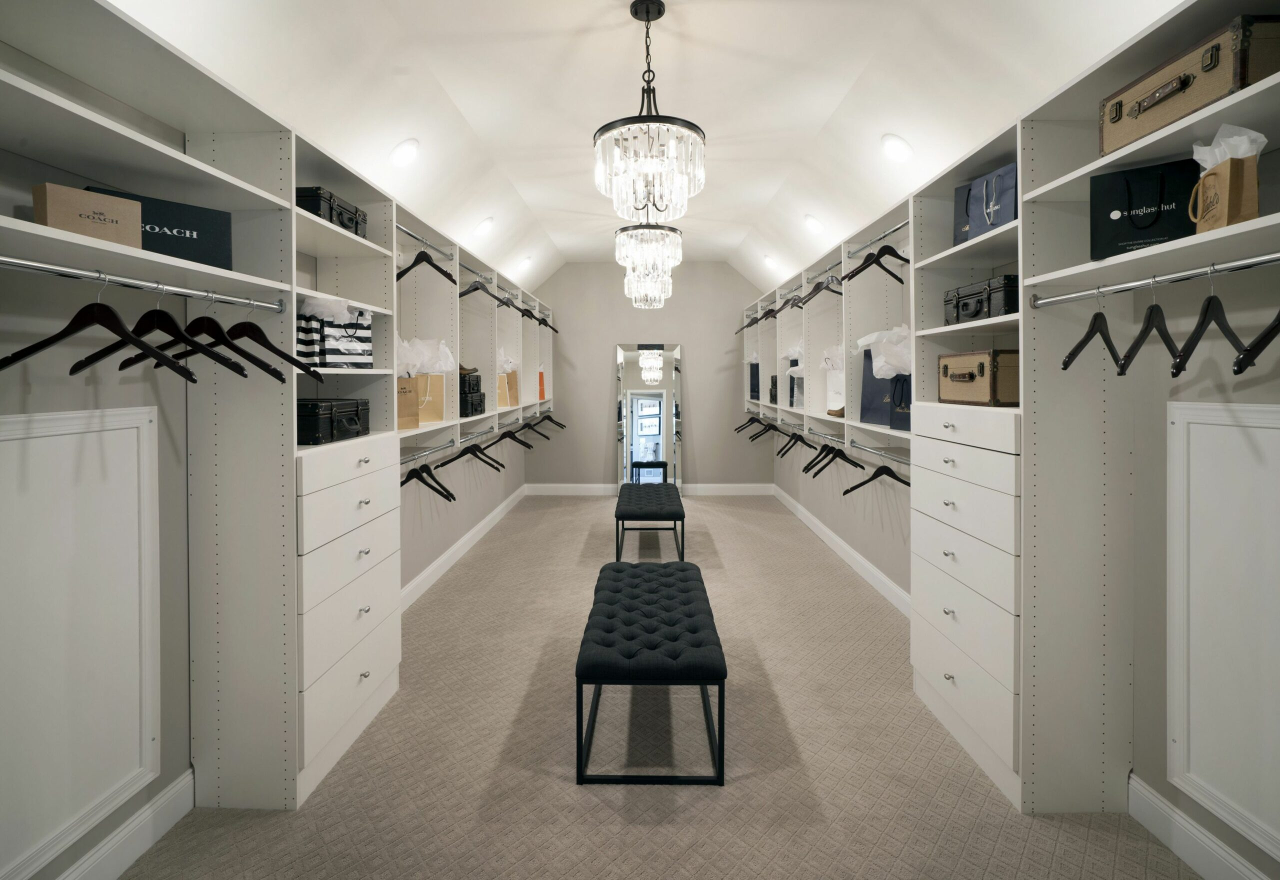 You can never have too many clothes with this expansive walk-in ..