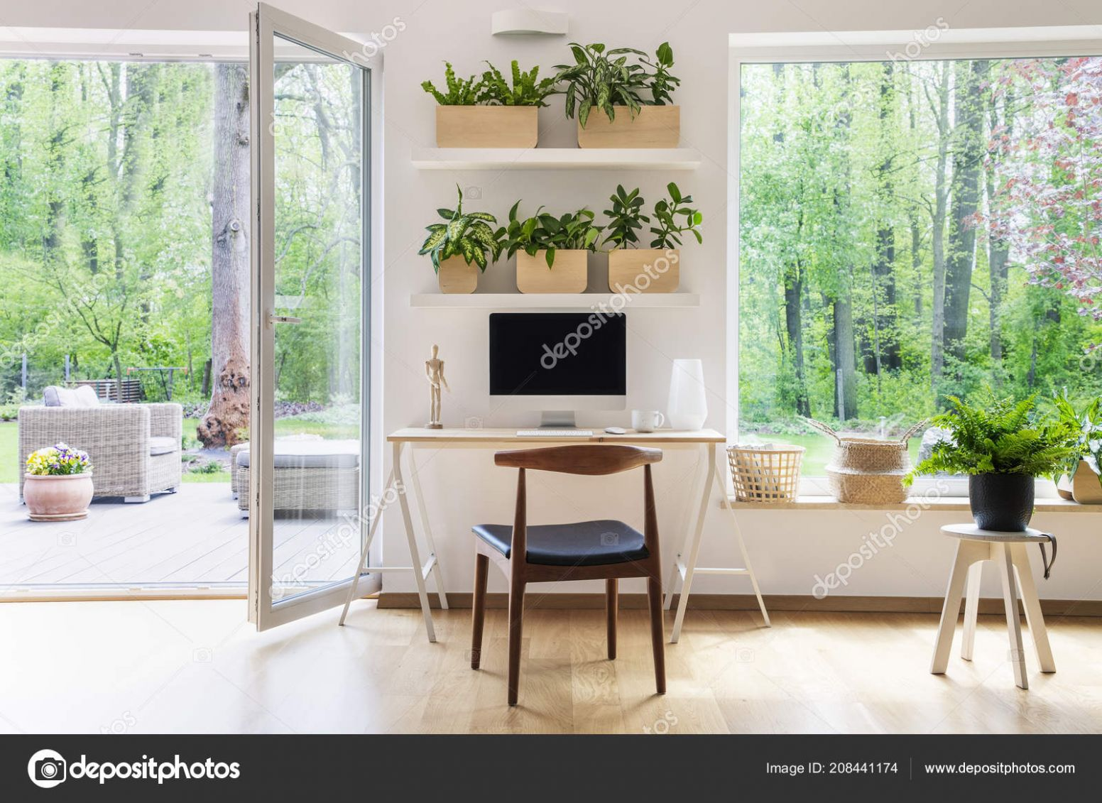 Zen home office design ideas | Zen Home Office Computer Beautiful ...