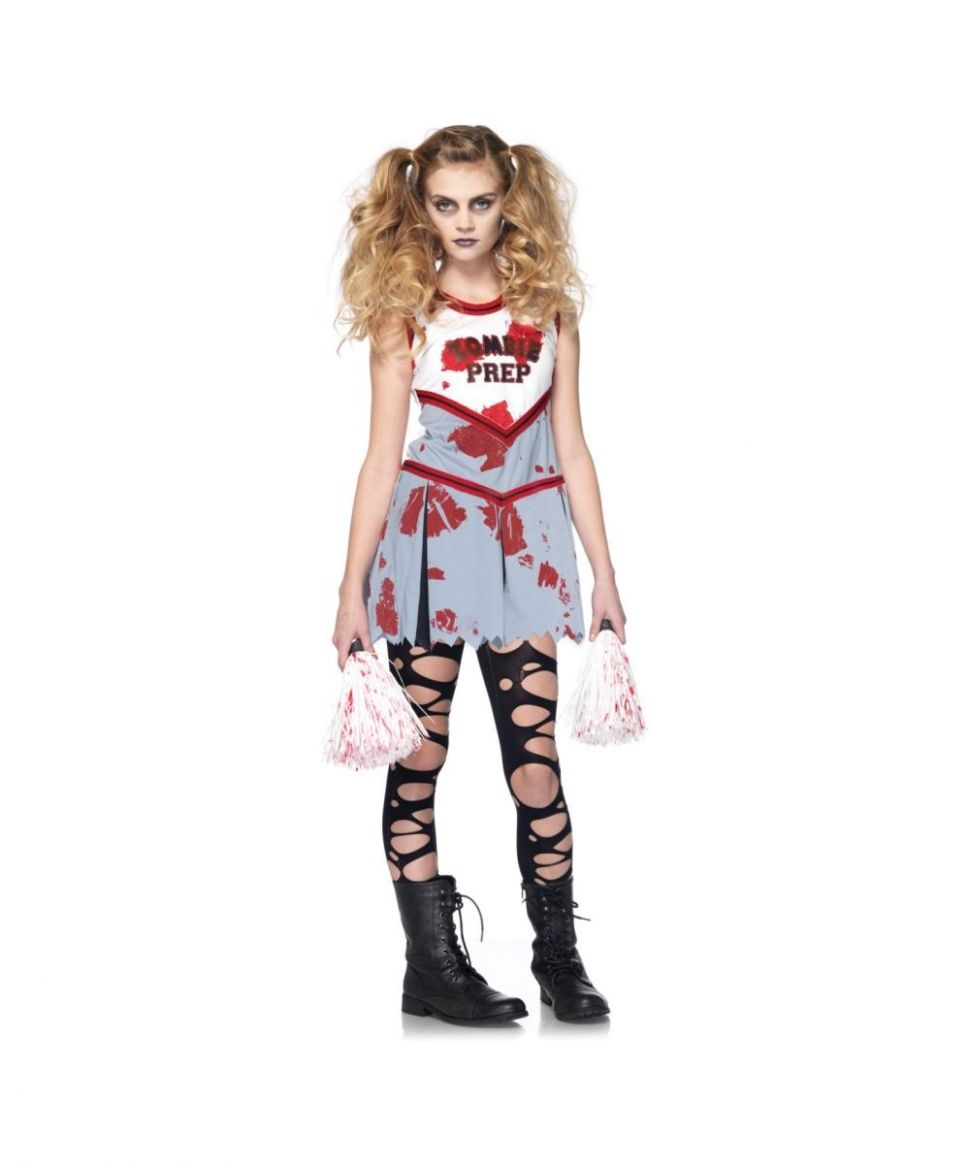 Zombie Cheerleader Kids Costume - Girls Costumes (With images ..